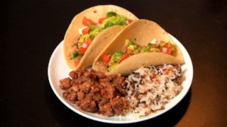Erik Valdez\'s Tacos with Pico De Gallo and Guacamole