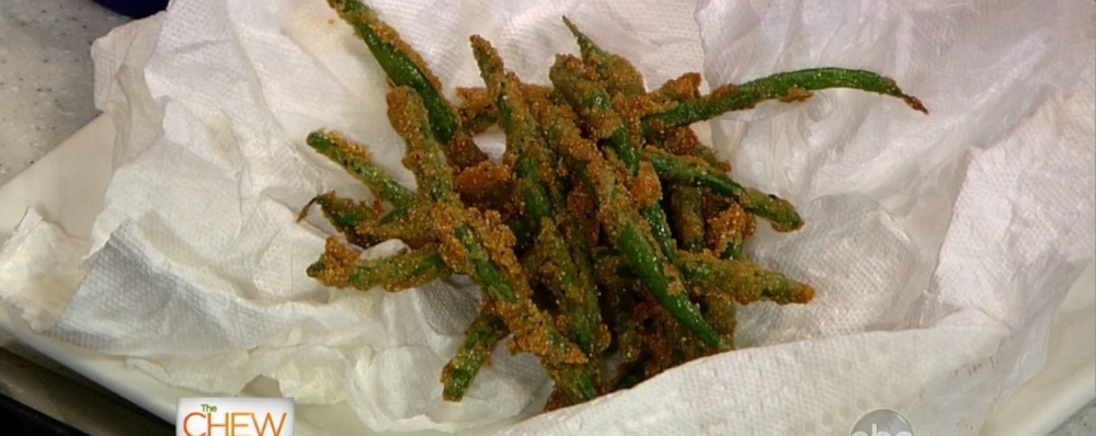 Fried Green Beans Recipe by Carla Hall - The Chew
