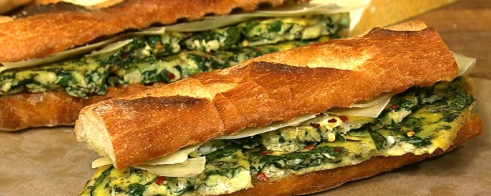 Frittata Sandwiches Recipe by Mario Batali - The Chew