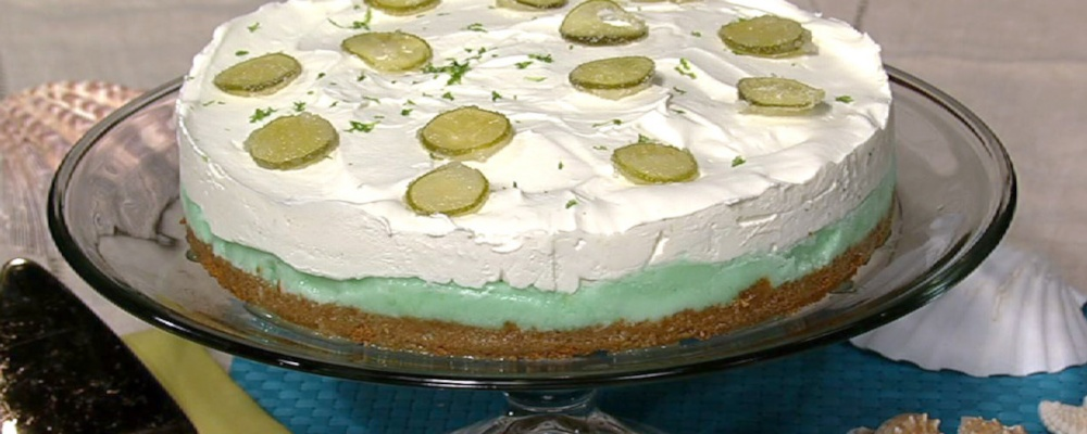 Frozen Key Lime Cake