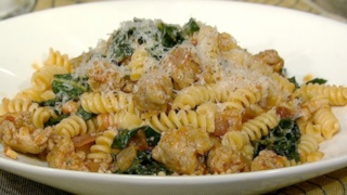 Fusilli with Sausage