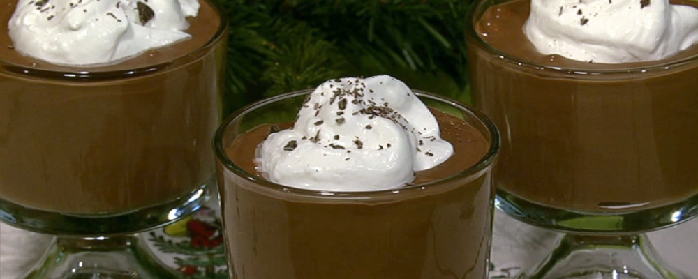 Geoffrey Zakarian\'s Deep Dark Chocolate Pudding