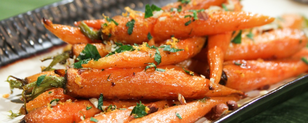 Ginger Glazed Carrots Recipe by Daphne Oz - The Chew