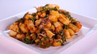 Gnocchi and 2-Minute Calamari