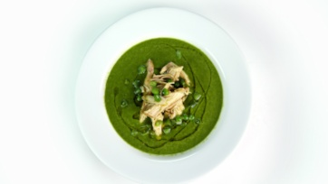 Green Chile Chicken with Spring Vegetables