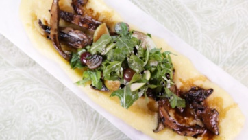 Soft Polenta With Forest Mushrooms Recipes — Dishmaps