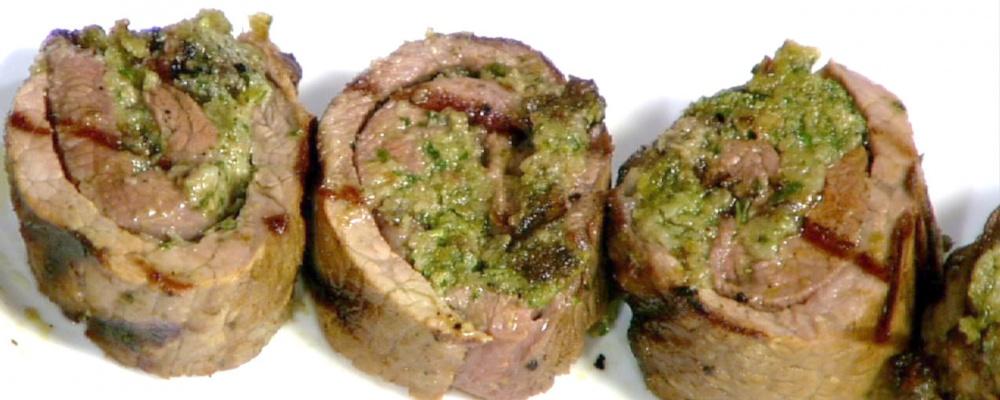 Grilled Beef Pinwheels