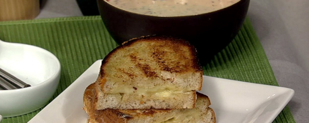 Grilled Gruyere Cheese