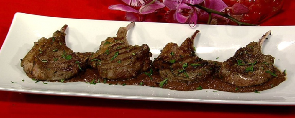 Grilled Lamb Chops with Mexican Chocolate Recipe by ...