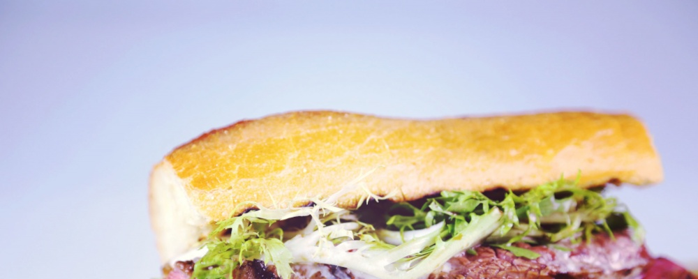 Grilled Steak & Fondue Sandwich Recipe by Mario Batali - The Chew
