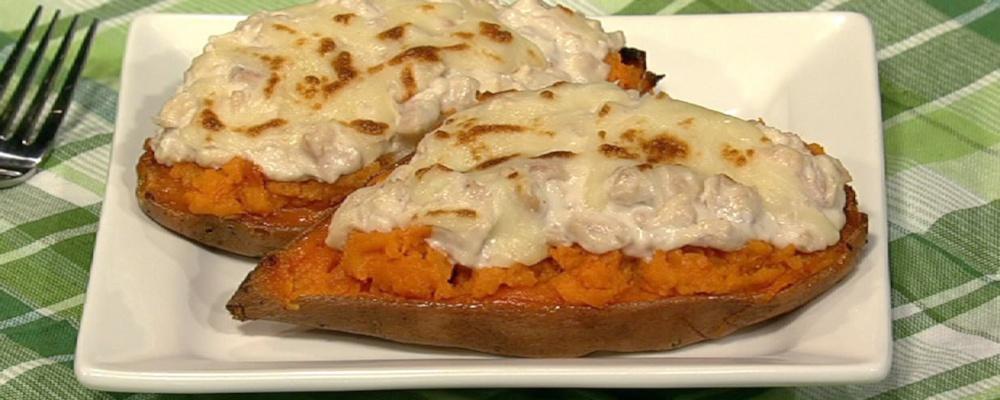 Harley Pasternak\'s Sweet Potato Tuna Melt