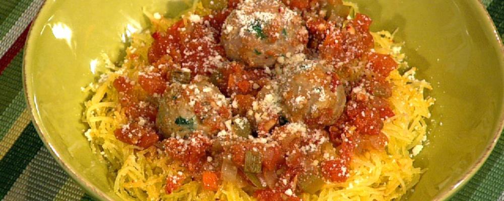 "Helen Cavallo\'s ""Spaghetti"" and Meatballs"