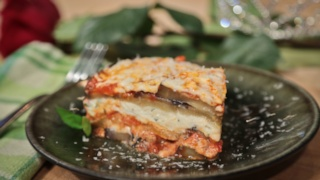 Homemade Sausage and Eggplant Lasagna