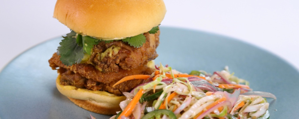 Hot Fried Chicken Sandwich