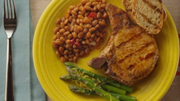 Hot & Spicy Grilled Pork Chops