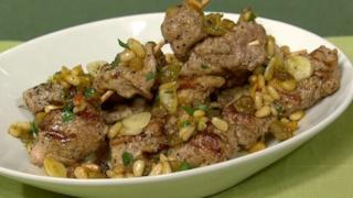 Italian Pork Kabobs