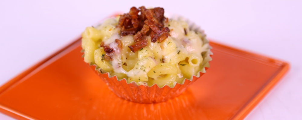 Jalapeno Mac & Cheese Cupcakes
