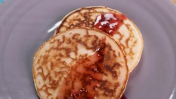 Jam Jar Pancake Drizzle