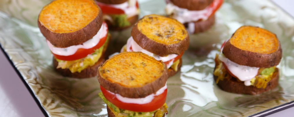 Jessica Chironna\'s Grilled Chicken Sweet Potato Sliders