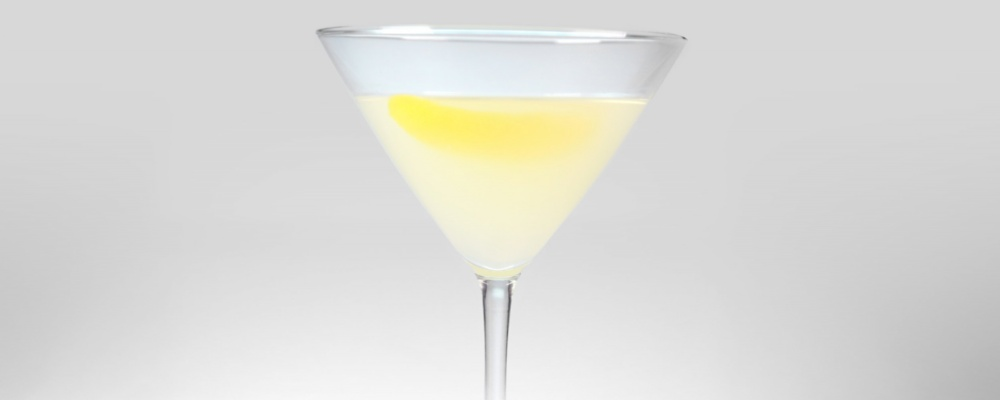 "Just for ""Her"" Martini AKA Lemon Rosemary Martini"