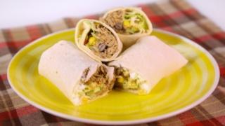 Karen Bailey\'s Braised and Praised Pork Burritos