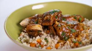 Laila Ali\'s Stewed Chicken and Gravy
