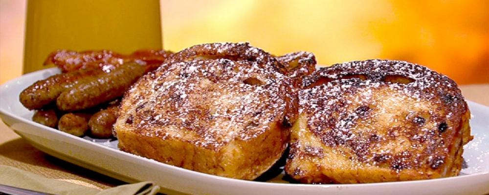 Leo and Benno\'s Cinnamon Swirl French Toast