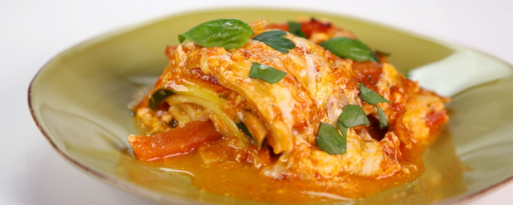 Linda Nguyen\'s Spicy Vegetable Lasagna