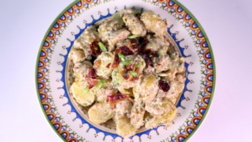 Loaded Creamy Potato Salad