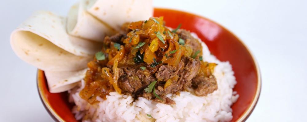 Lynn\'s Plantain with Beef Hash (Picadillo de Platano con Carne)