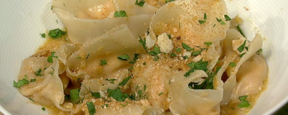 Mac and Cheese Tortelloni