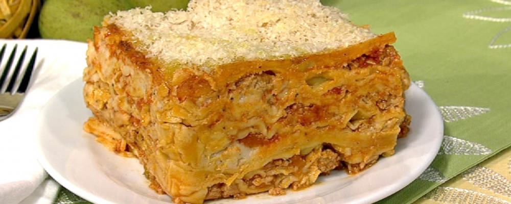 Mario Batali's 100 Layer Lasagna Recipe by Mario Batali - The Chew
