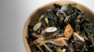 Mario Batali\'s Braised Kale