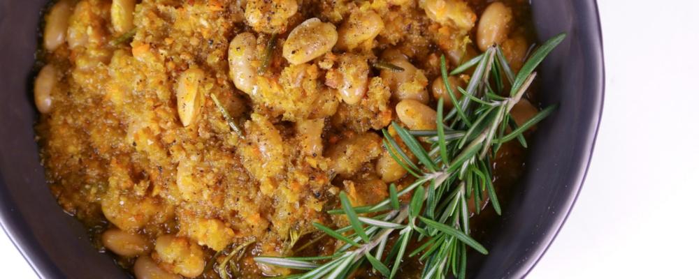 Mario Batali's Braised White Beans Recipe by Mario Batali - The Chew