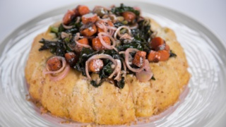 Mario Batali\'s Cauliflower Sformata