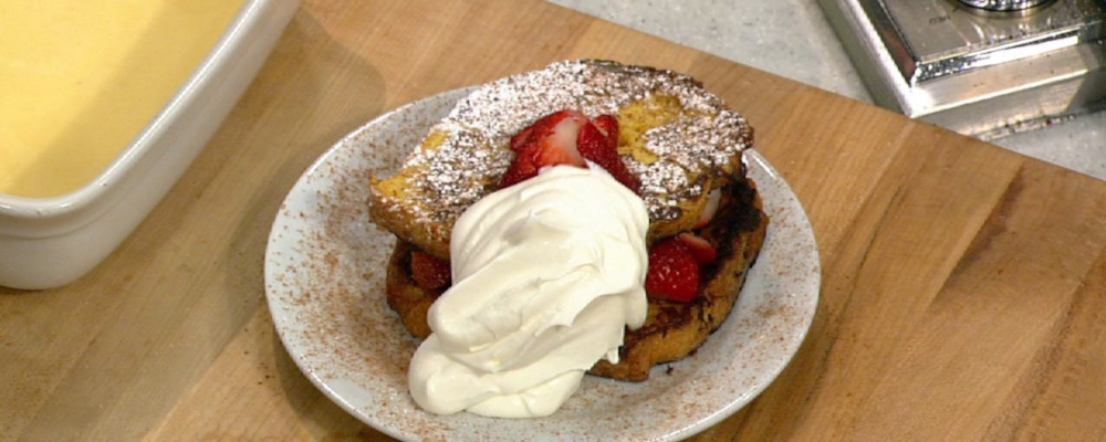 Mario Batali\'s Diner French Toast