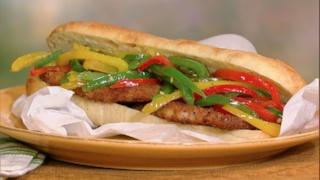 Mario Batali\'s Fried Pork Chop Sandwiches