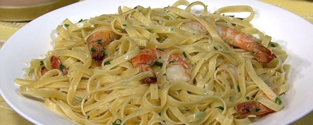 Mario Batali\'s Shrimp Scampi