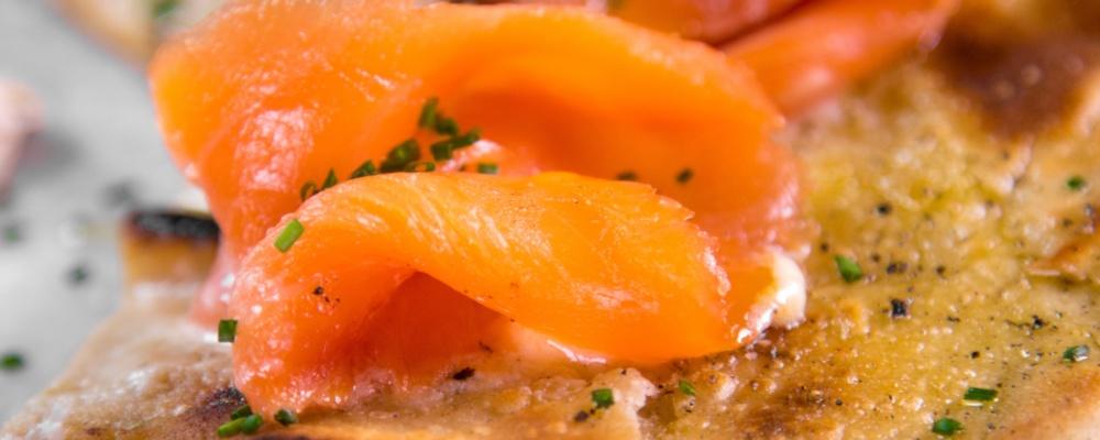 Mario Batali\'s Smoked Salmon Pizza