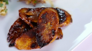 Mario Batali\'s Sweet Plantains