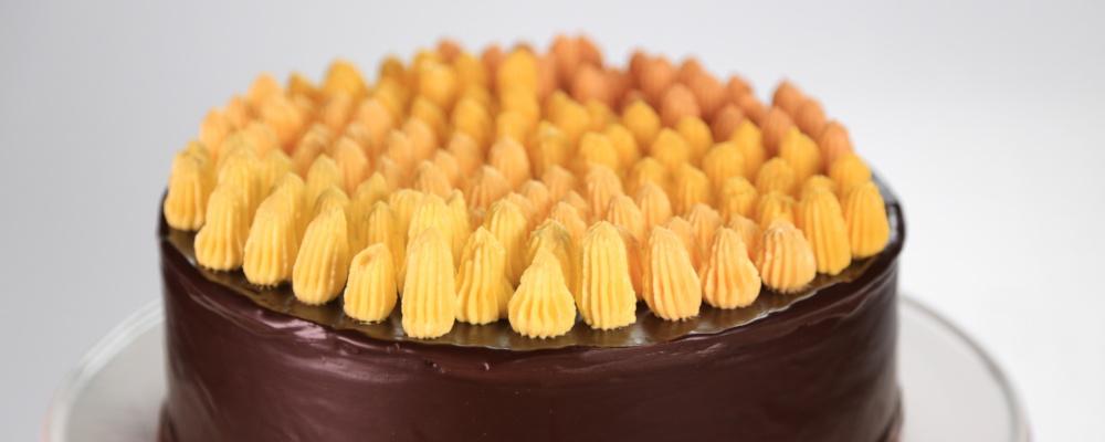 Martha Stewart\'s Starburst Cake
