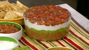 Carla Hall Mexican 5-Layer Dip 3.33 stars based on 3 reviews Easy 1 to ...