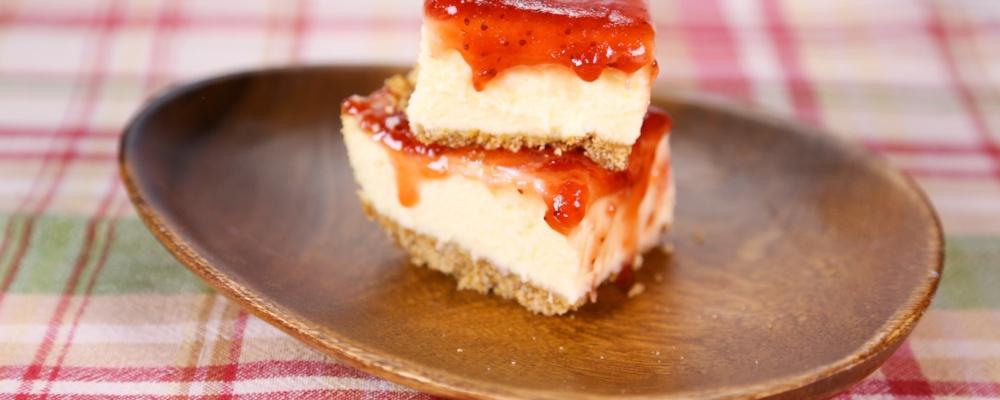 Michael Symon\'s Cheesecake with Pretzel Crust