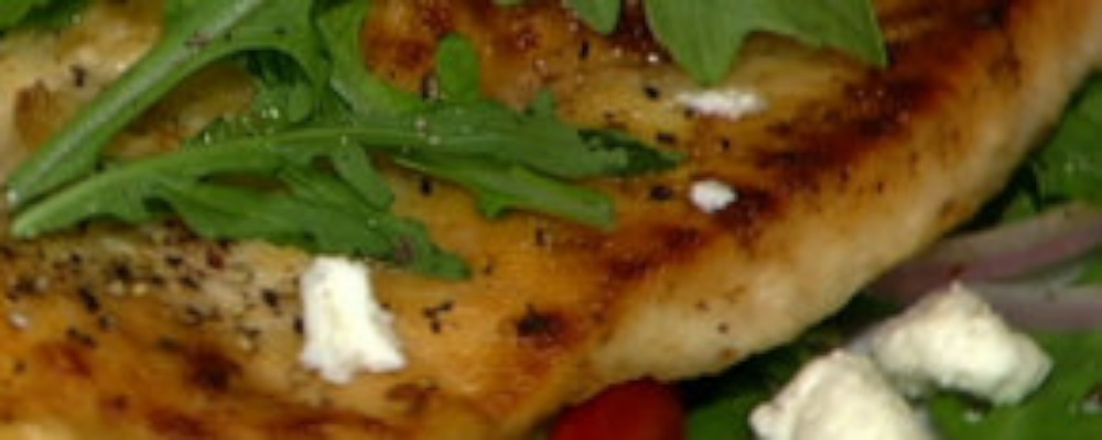 Michael Symon's Chicken Cutlet Milanese with Arugula Salad Recipe by ...