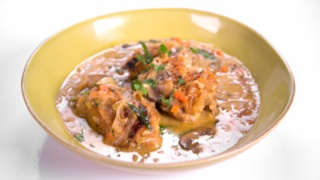 Michael Symon\'s Chicken Fricassee