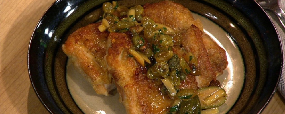 Michael Symon\'s Chicken Picatta
