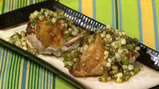 Michael Symon\'s Chorizo-Stuffed Chicken Breasts
