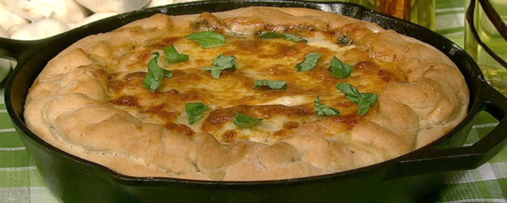Michael Symon\'s Deep Dish Pizza