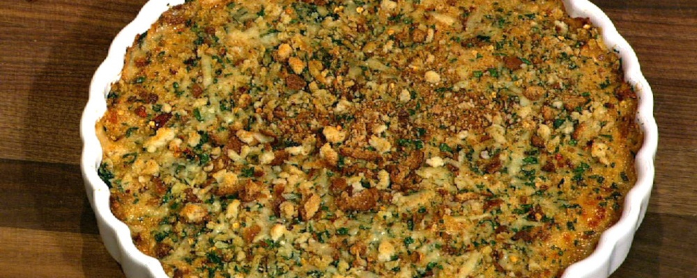 Michael Symon\'s Green Gratin