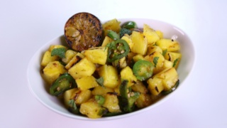 Michael Symon\'s Grilled Pineapple Salad
